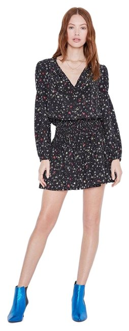 ANINE BING Black Star XS Martha Multi - New with Tags - Short Casual Dress Size 2 (XS) ANINE BING Black Star XS Martha Multi - New with Tags - Short Casual Dress Size 2 (XS) Image 1