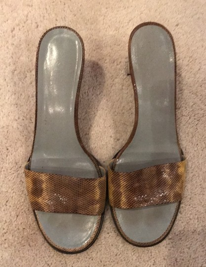 Gucci yellow/brown Mules Image 2