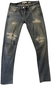 RE/DONE Levis Grlfrnd Re/Done Skinny Jeans-Distressed