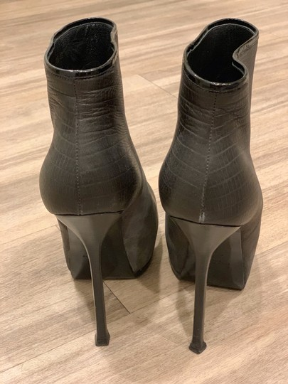 Saint Laurent Grey Platforms Image 2