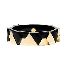 Tory Burch Tory Burch Connor Wide Hexagonal Bangle