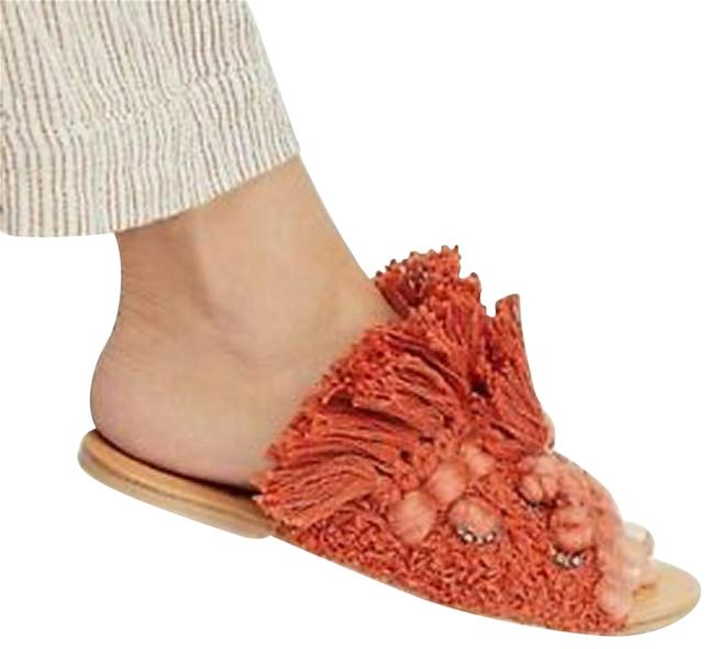 Free People Coral Mars At Night Sandals Size US 6 Regular (M, B) Free People Coral Mars At Night Sandals Size US 6 Regular (M, B) Image 1