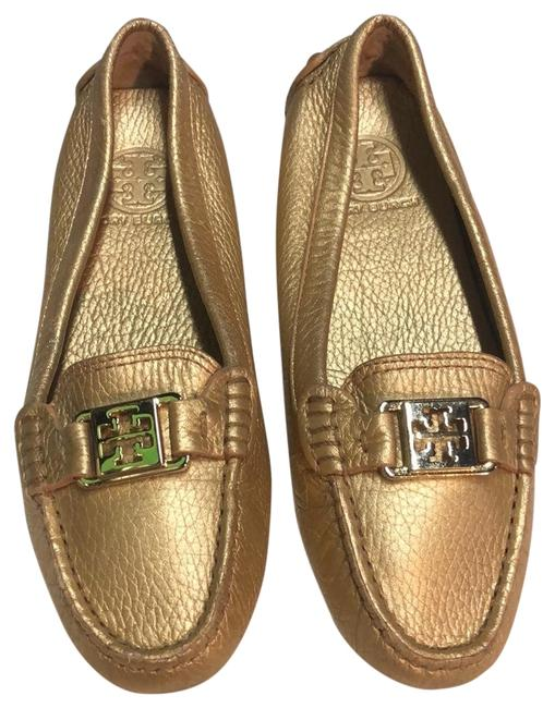 Tory Burch Gold Loafers Flats Size US 6.5 Regular (M, B) Tory Burch Gold Loafers Flats Size US 6.5 Regular (M, B) Image 1