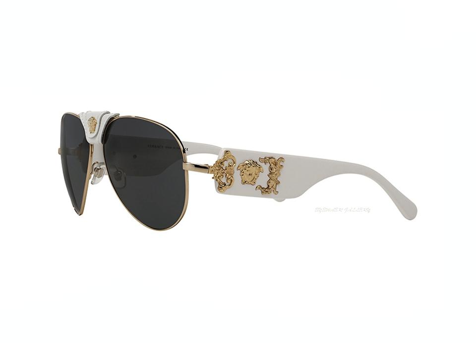 ccc84140c16a Versace VE 2150-Q 1341/87 VERSACE Aviator FREE 3 DAY SHIPPING Image 0 ...