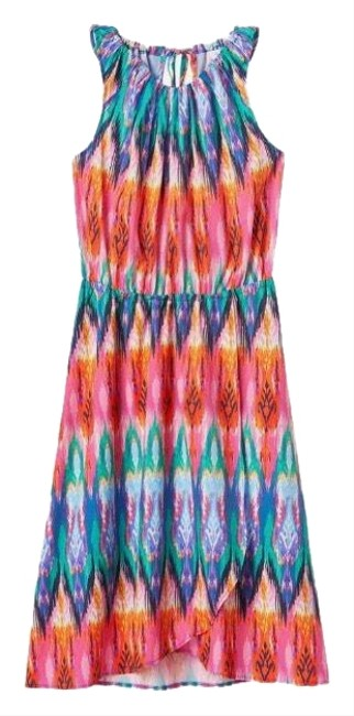 Preload https://img-static.tradesy.com/item/25556164/athleta-ikat-martinique-day-colorful-mid-length-short-casual-dress-size-2-xs-0-1-650-650.jpg