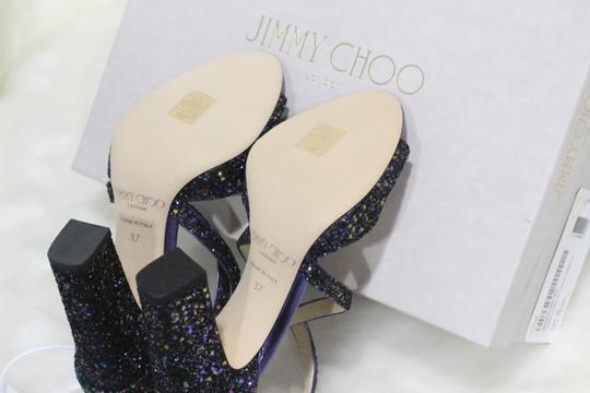 Jimmy Choo Blue Pumps Image 5