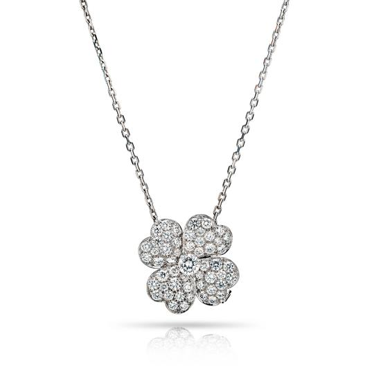Preload https://img-static.tradesy.com/item/25556612/van-cleef-and-arpels-white-cosmos-diamond-pave-clip-pendant-medium-on-a-vca-chain-necklace-0-0-540-540.jpg