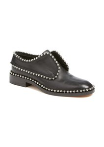 Alexander Wang Leather Studded Black Flats