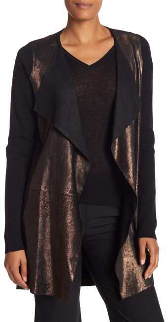 Preload https://img-static.tradesy.com/item/25556645/elie-tahari-lakshmi-lamb-leather-black-sweater-0-1-650-650.jpg