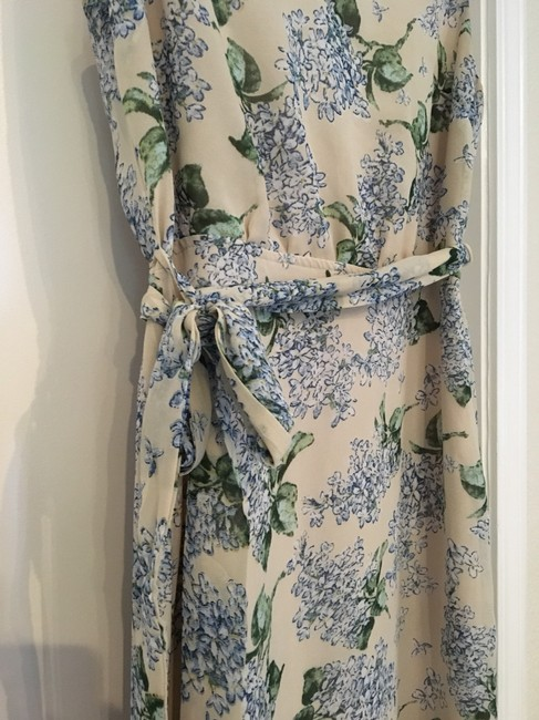beige, cream, blue, green Maxi Dress by Vici Collection Image 3