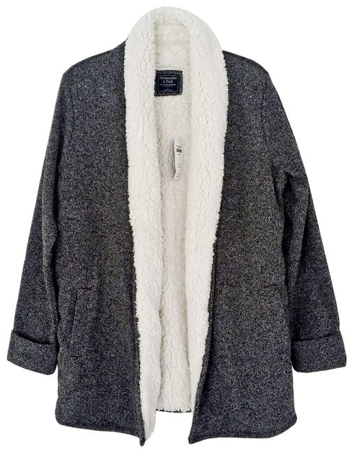 Preload https://img-static.tradesy.com/item/25556755/abercrombie-and-fitch-gray-a-and-f-sweater-jacket-size-12-l-0-2-650-650.jpg