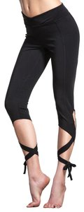 Free People Tie Soft Fitness Sporty Ankle Length Jeggings-Medium Wash