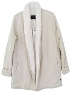 Abercrombie & Fitch Ivory Jacket