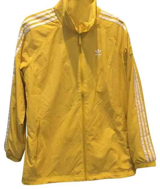 Preload https://img-static.tradesy.com/item/25556805/adidas-corn-yellow-stadium-jacket-coat-size-4-s-0-1-650-650.jpg