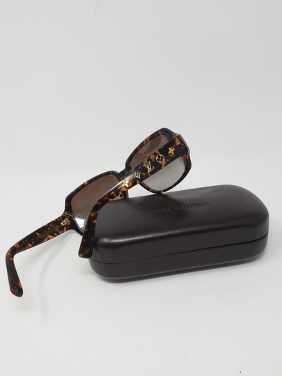 Louis Vuitton Brown tortoiseshell resin Louis Vuitton Obsession Carré sunglasses Image 1