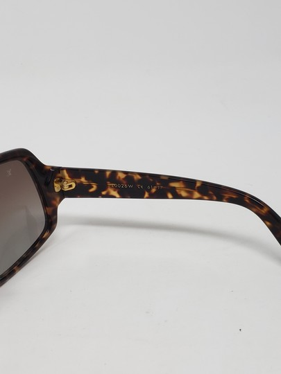 Louis Vuitton Brown tortoiseshell resin Louis Vuitton Obsession Carré sunglasses Image 10