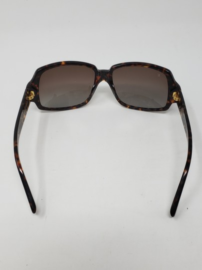 Louis Vuitton Brown tortoiseshell resin Louis Vuitton Obsession Carré sunglasses Image 11