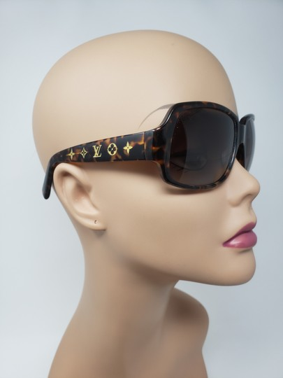 Louis Vuitton Brown tortoiseshell resin Louis Vuitton Obsession Carré sunglasses Image 3
