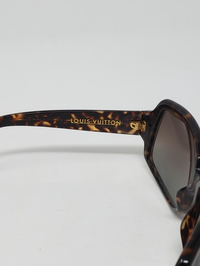 Louis Vuitton Brown tortoiseshell resin Louis Vuitton Obsession Carré sunglasses Image 6
