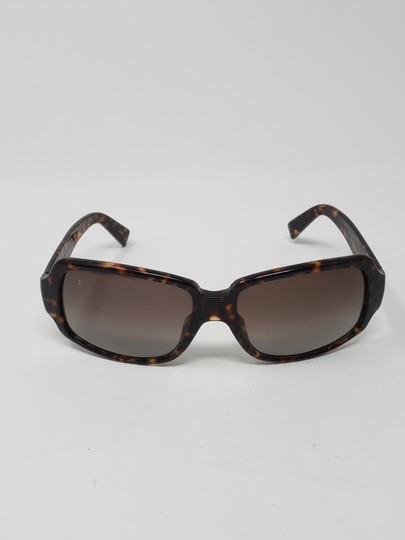 Louis Vuitton Brown tortoiseshell resin Louis Vuitton Obsession Carré sunglasses Image 7