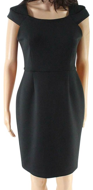 Preload https://img-static.tradesy.com/item/25556852/calvin-klein-black-women-square-neck-cap-sleeve-sheath-mid-length-workoffice-dress-size-petite-6-s-0-1-650-650.jpg
