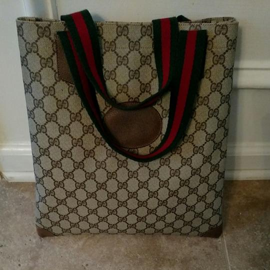 Preload https://item5.tradesy.com/images/gucci-brown-coated-canvas-tote-25556889-0-0.jpg?width=440&height=440