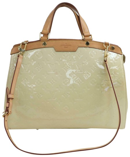 Preload https://img-static.tradesy.com/item/25556920/louis-vuitton-brea-hand-m91456-mm-cream-vernis-leather-satchel-0-1-540-540.jpg