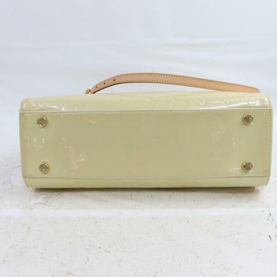 Louis Vuitton Satchel in Cream Image 4