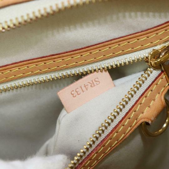 Louis Vuitton Satchel in Cream Image 5