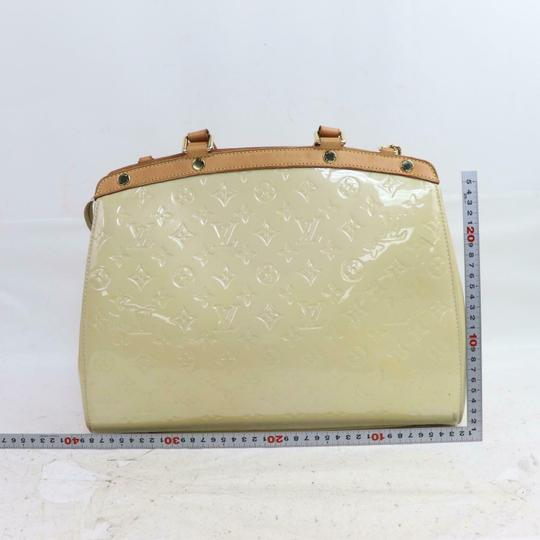 Louis Vuitton Satchel in Cream Image 7