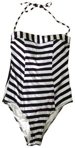 OndadeMar OndadeMar Blue and White Striped Swimsuit