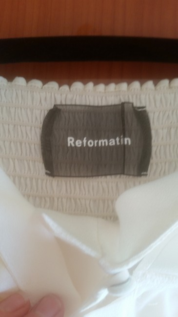 Reformation Top Ivory Image 2
