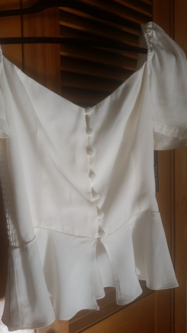 Reformation Top Ivory Image 8