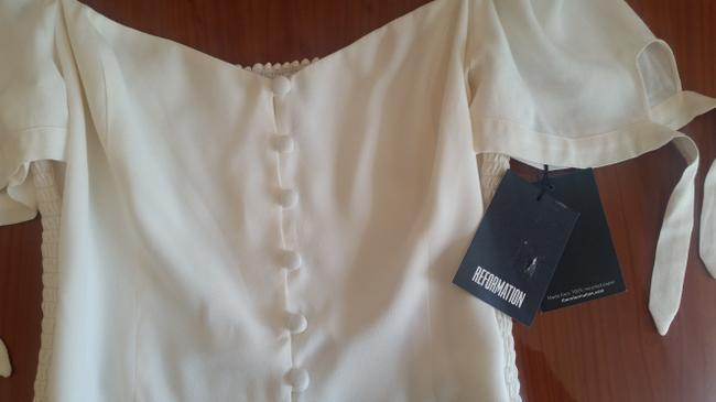 Reformation Top Ivory Image 9