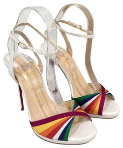 Christian Louboutin Pride Rainbow Red Bottoms Trend Multi Sandals