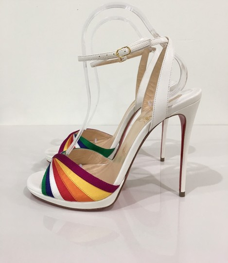 Christian Louboutin Pride Rainbow Red Bottoms Trend Multi Sandals Image 1