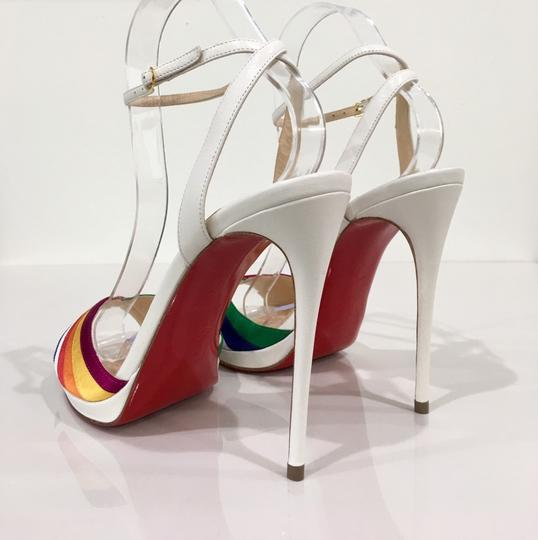 Christian Louboutin Pride Rainbow Red Bottoms Trend Multi Sandals Image 2