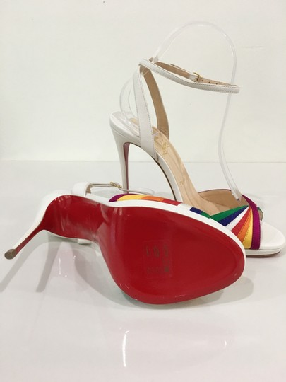 Christian Louboutin Pride Rainbow Red Bottoms Trend Multi Sandals Image 5