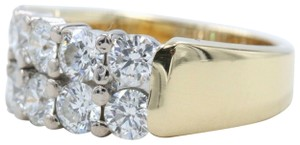 Hearts on Fire Hearts on Fire Enchantment 10 Diamond Double Row Band Ring 1.50 tcw