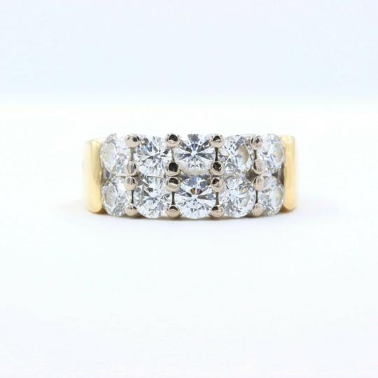 Hearts on Fire Hearts on Fire Enchantment 10 Diamond Double Row Band Ring 1.50 tcw Image 1