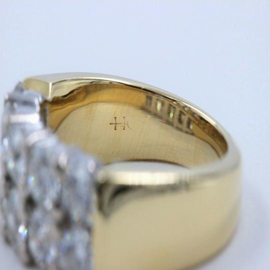 Hearts on Fire Hearts on Fire Enchantment 10 Diamond Double Row Band Ring 1.50 tcw Image 2