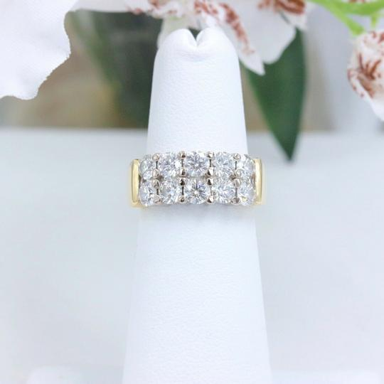 Hearts on Fire Hearts on Fire Enchantment 10 Diamond Double Row Band Ring 1.50 tcw Image 4