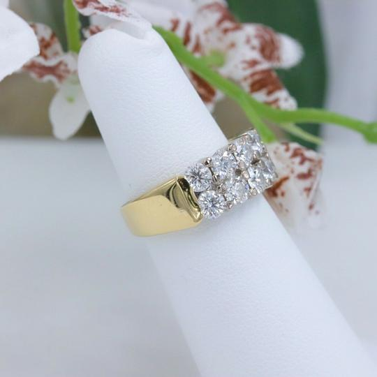 Hearts on Fire Hearts on Fire Enchantment 10 Diamond Double Row Band Ring 1.50 tcw Image 5