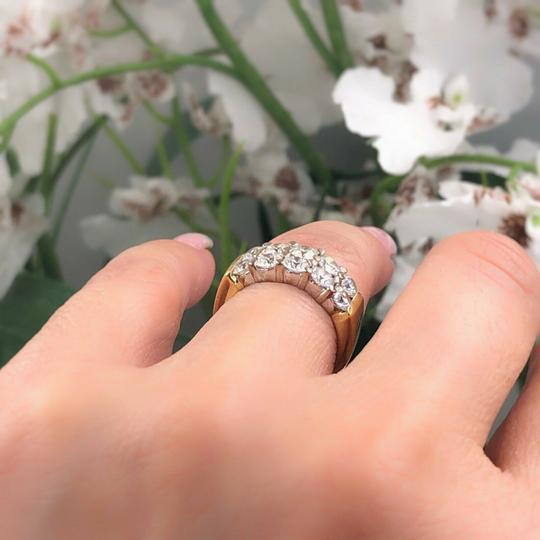 Hearts on Fire Hearts on Fire Enchantment 10 Diamond Double Row Band Ring 1.50 tcw Image 6