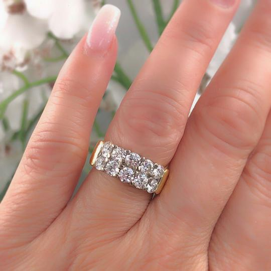 Hearts on Fire Hearts on Fire Enchantment 10 Diamond Double Row Band Ring 1.50 tcw Image 7