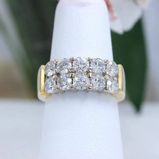 Hearts on Fire Hearts on Fire Enchantment 10 Diamond Double Row Band Ring 1.50 tcw Image 8
