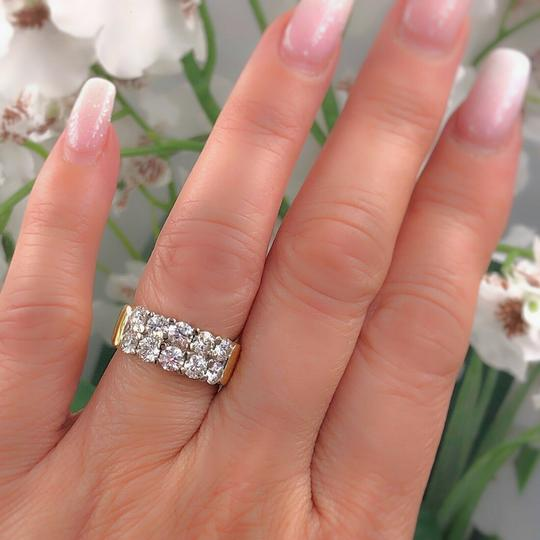 Hearts on Fire Hearts on Fire Enchantment 10 Diamond Double Row Band Ring 1.50 tcw Image 9