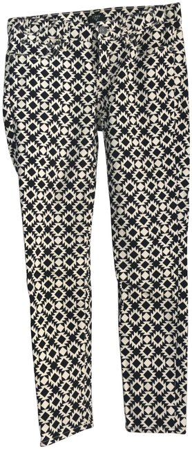 Item - Black and White Skinny Jeans Size 25 (2, XS)