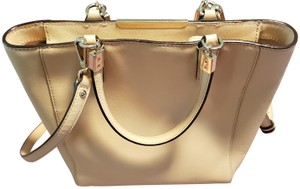 Coach Leather Vintage Tote in Beige