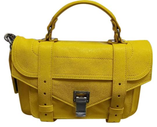 Preload https://img-static.tradesy.com/item/25557074/proenza-schouler-ps1-tiny-lemon-lambskin-leather-cross-body-bag-0-1-540-540.jpg